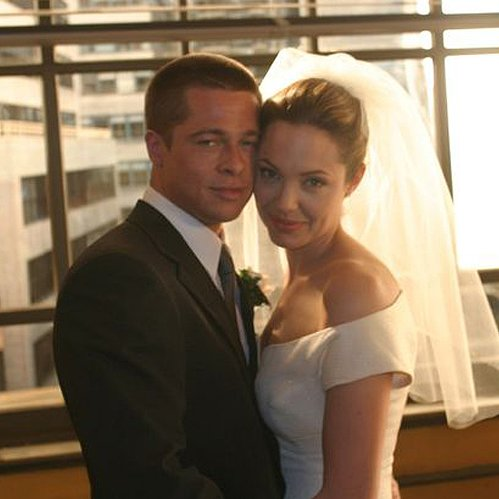 Brad Pitt and Angelina Jolie Wedding in Mr and Mrs Smith