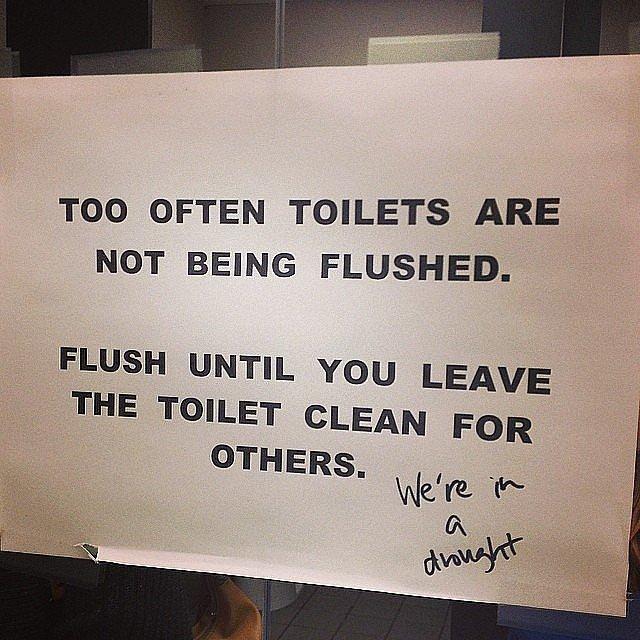 Funny bathroom signs  Etsy