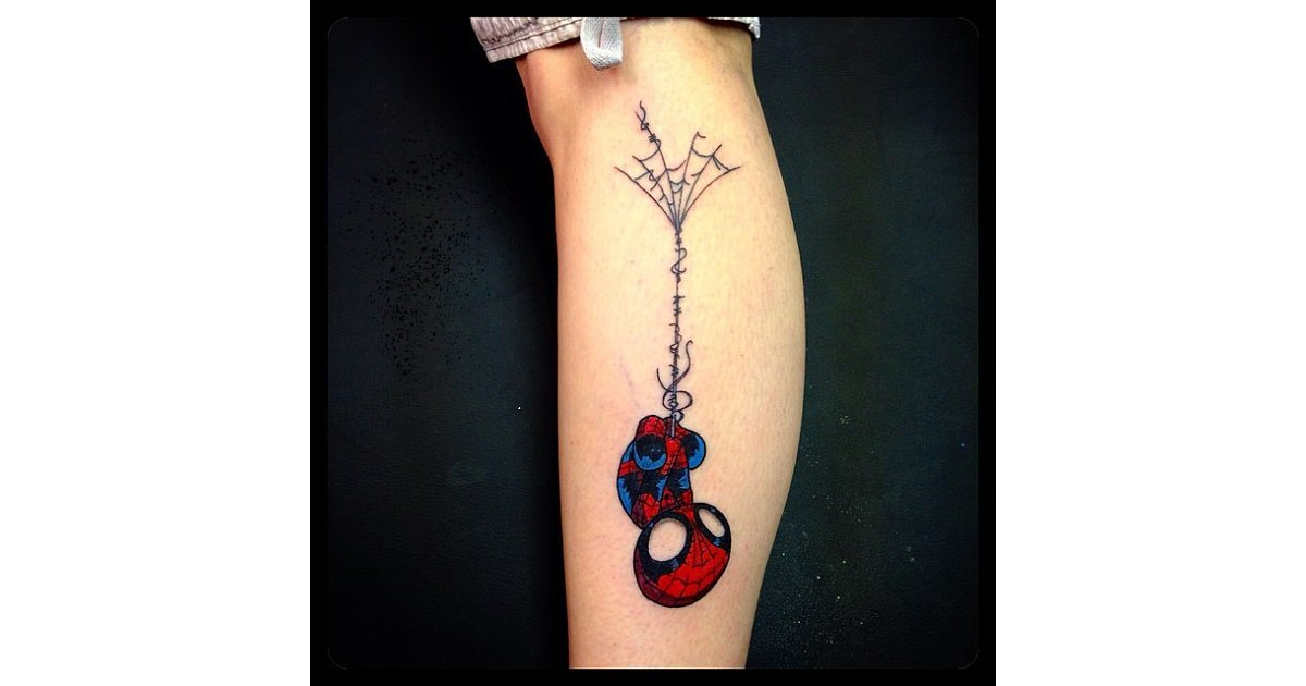 Spider Man Prepare To Geek Out Over These Tattoo Ideas