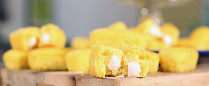 Mini Homemade Twinkies: A Supermarket Classic All Dolled Up