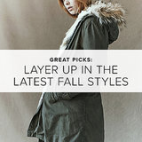Fall Picks For Her: Layer Up in the Latest Essentials