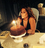 Lea Michele Celebrates 28th Birthday With Girlfriends, Gourmet Dinner: PHOTOS
