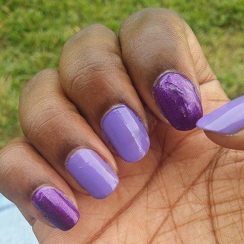 Ruining a Fresh Manicure