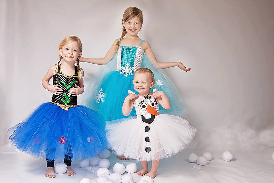 Whether your child wants to dress up as Olaf ($45), Princess Anna ($60), or Queen Elsa ($65), they're sure to look adorable in these handmade outfits!