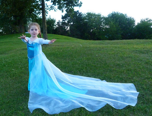 This Elsa costume ($99) is as magical as the ice queen herself, and your daughter is sure to wow her friends in it this Halloween.