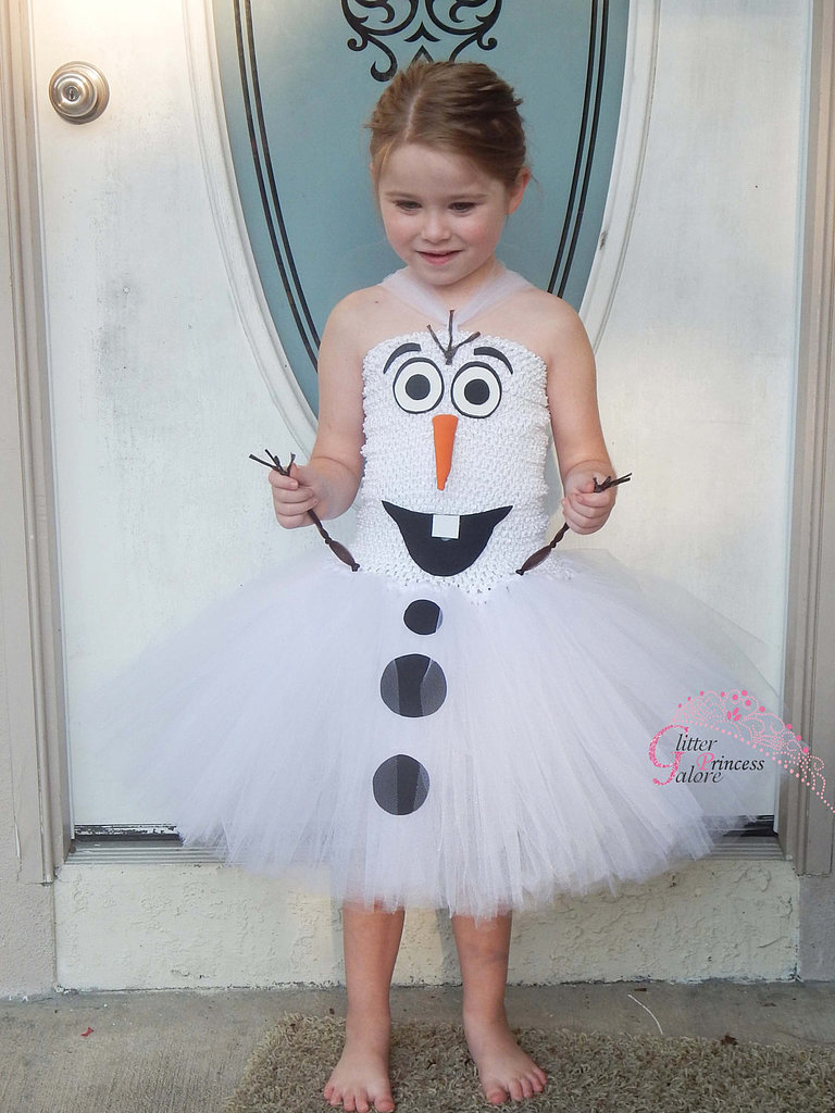 If you get jealous of your daughter's adorable Olaf costume ($30), remember that it comes in adult sizes, too!