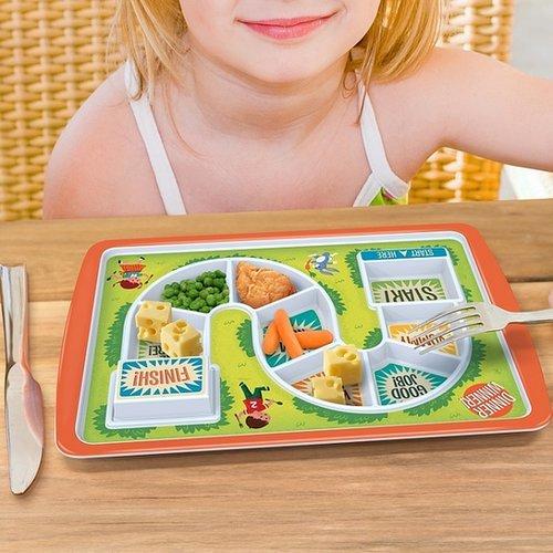 Start to Finish Kids Plate