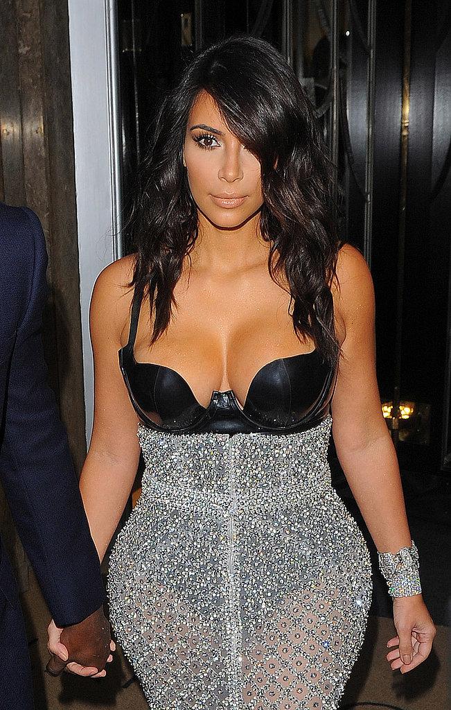 Did Kim Pull Off This Leotard Look?