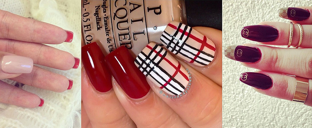 12 Luxury Fashion Designer-Inspired Nail Art Looks to DIY
