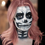 ​Skeleton Halloween Makeup | Tutorial