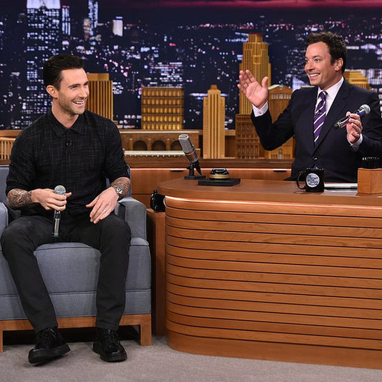 Adam Levine's Michael Jackson Impression On Jimmy Fallon