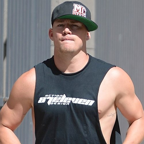 Channing Tatum Working Out in LA | Pictures