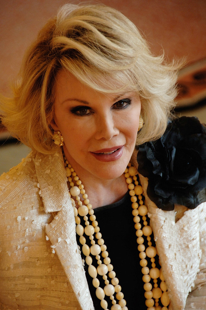 Joan Rivers Cover Grey Hair LONG HAIRSTYLES