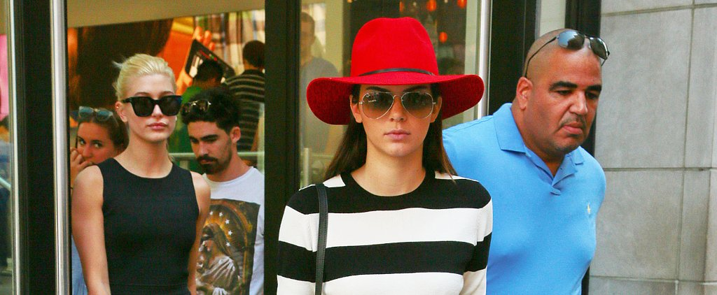 Kendall Jenner Shows Us How to Rock Fall's Red-Hot Accessory