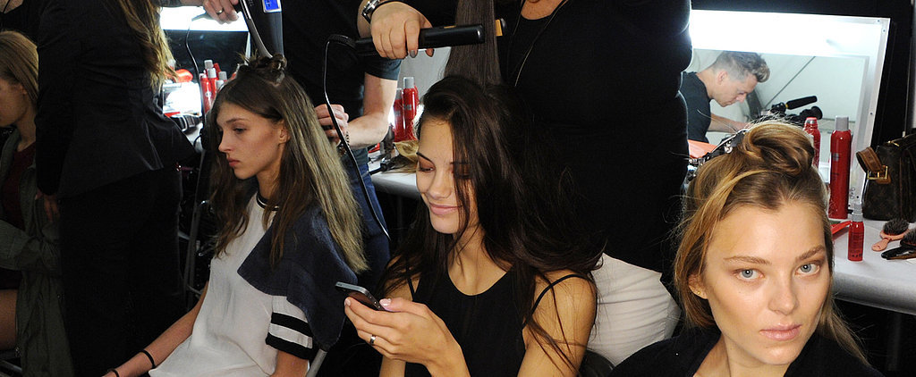 Take a Tour of What It's Really Like Backstage at Fashion Week!