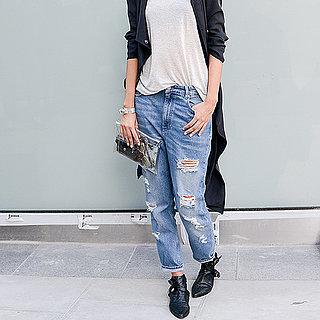 Jeans + Haut Blanc Back to Basics