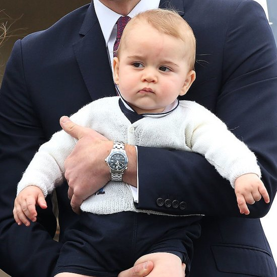 Here's How Prince George Feels About the New Royal Baby News