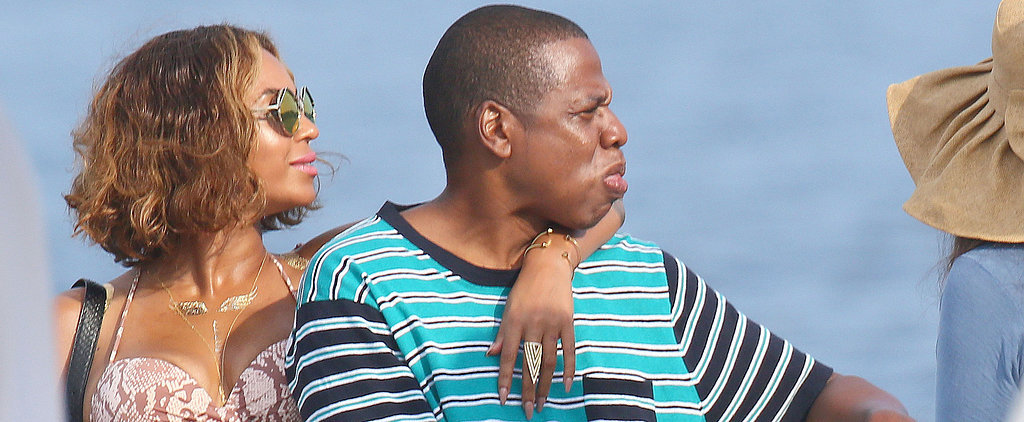 Beyoncé and Jay Z Keep the Sexy Vacation Moments Coming