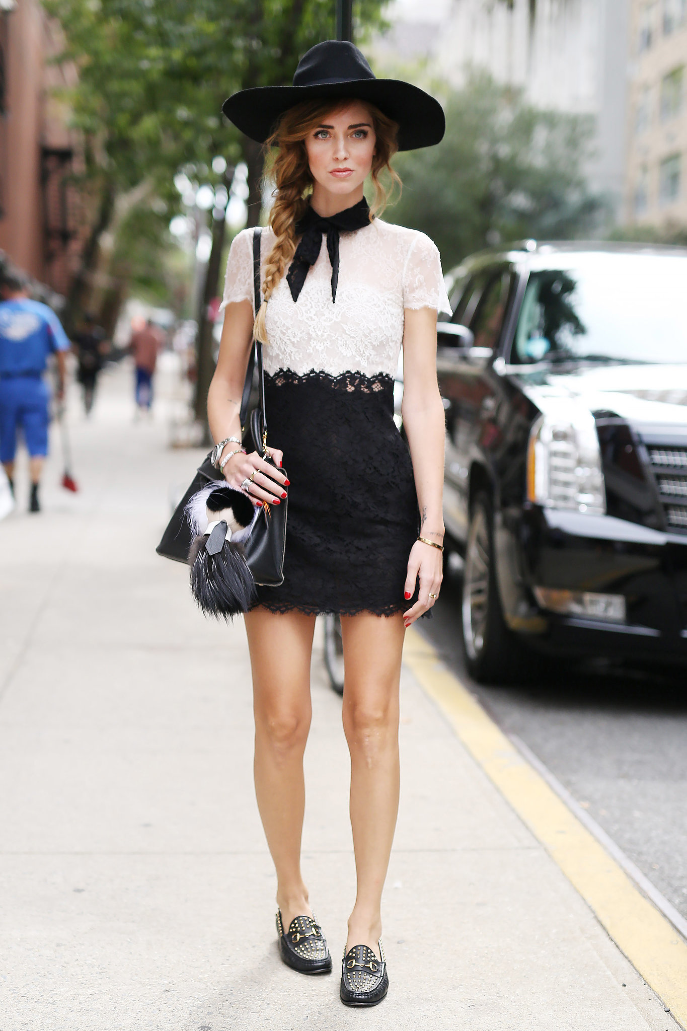 Nyfw Street Style Day 5 Tbt See All The Best Street Style From Nyfw Last Season Popsugar