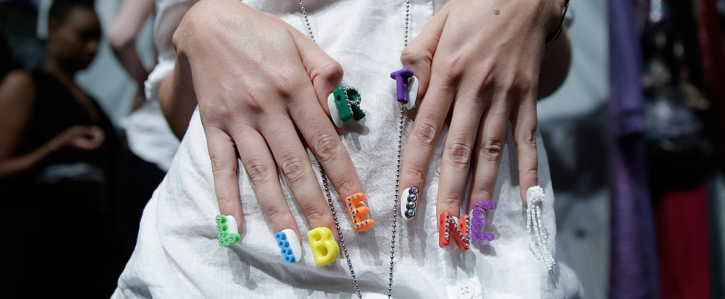 New Nail Art! See the Manicure Trends From the Spring 2015 Runways