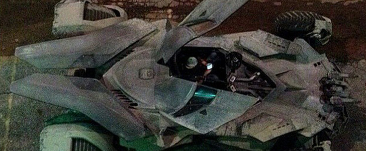 The Batmobile Has Surfaced on the Set of Batman v Superman