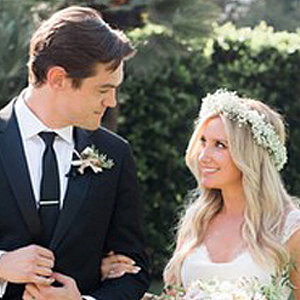 Ashley Tisdale Marries Christopher French