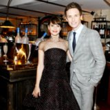 Eddie Redmayne and Felicity Jones in Theory of Everything
