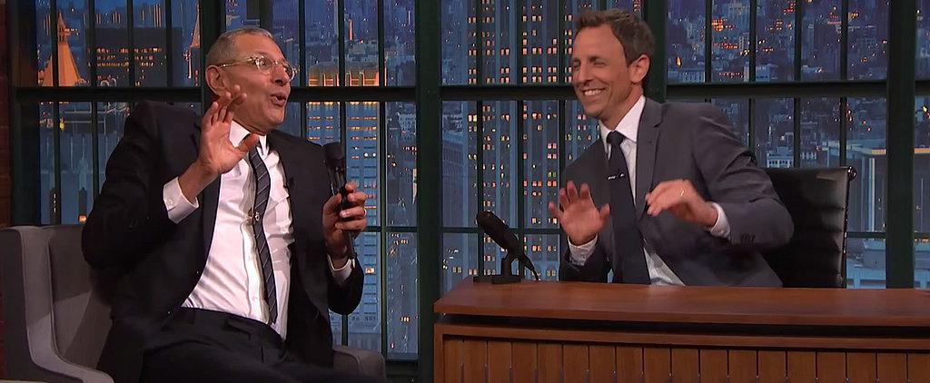 Jeff Goldblum Sings the Made-Up Lyrics to the Jurassic Park Theme, and It's Wonderful