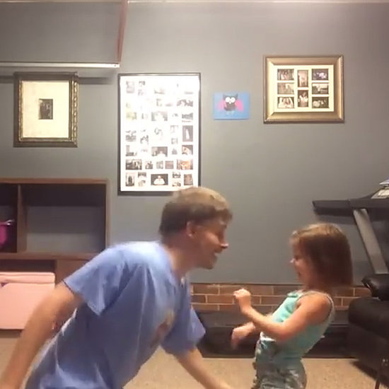 "Dad and Daughter Dance to Taylor Swift ""Shake It Off"""