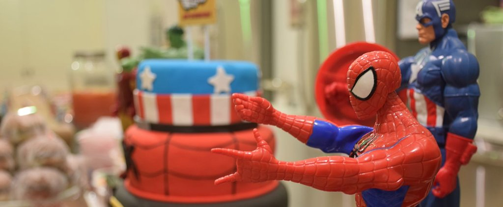 A Superhero Party That Packs a Powerful Punch