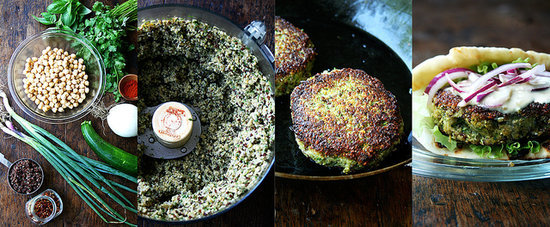 For the Best Veggie Burgers, Take a Cue From Falafel