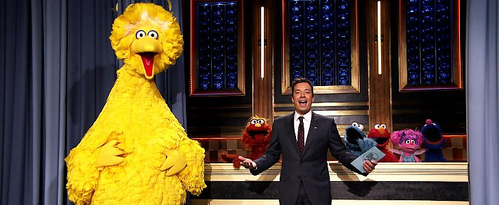 Sesame Street Characters Visit Jimmy Fallon For Some Hashtag Fun