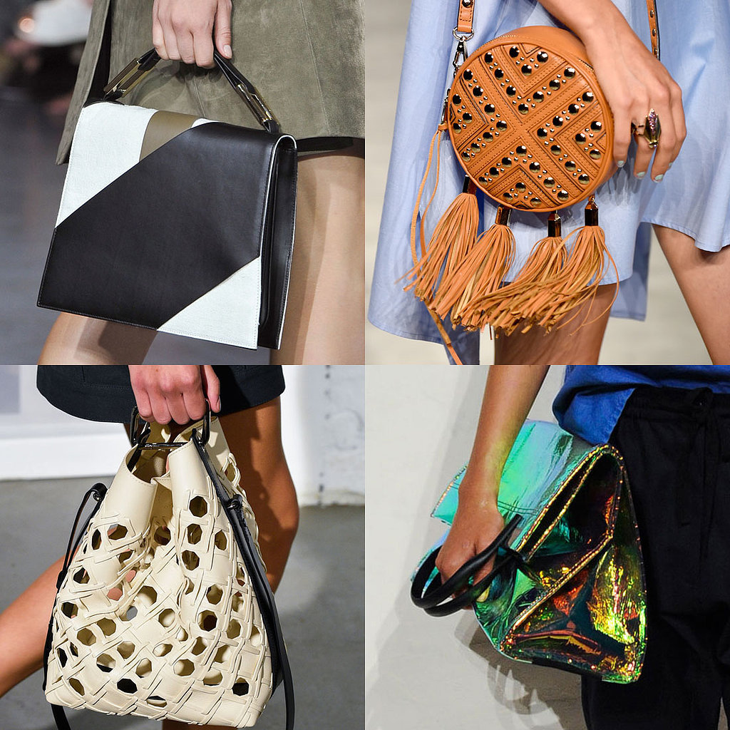 The mini bag trend is hardly new, but for fall, it's all about vintage influences, seen across the runways of Oscar de la Rent, Altuzarra and Adeam. From small, structured top-handle styles to compact cross-body bags, opulence is key whether it's via seasonal croc, elegant brocade or shimmering metallic fabrics.