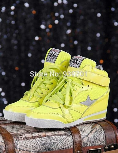 $118.00 ASH Womens Star Casual Leather High-top Trainer Shoes