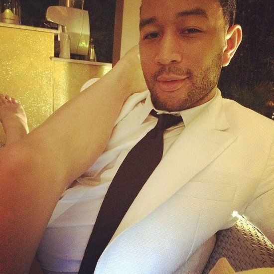 John Legend and Chrissy Teigen Wedding Anniversary Pictures