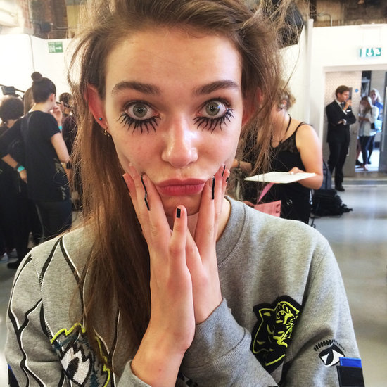 London Fashion Week Backstage photos Spring Summer 2015