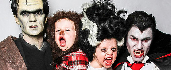All of Neil Patrick Harris's Epic Family Halloween Costumes