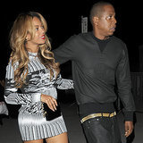Beyonce and Jay Z Step Out in Paris