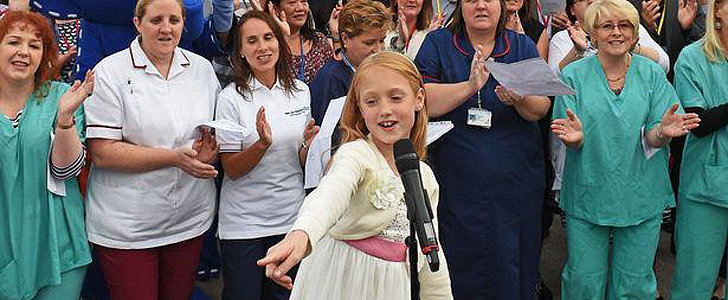 Watch This 9-Year-Old's Amazing Thank You For the Hospital That Saved Her Life