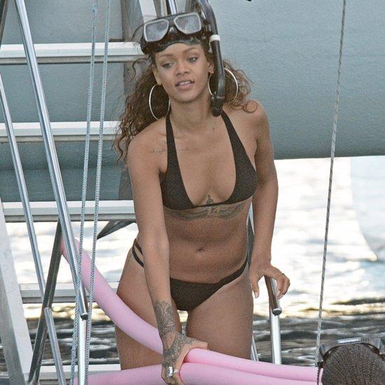 Rihanna Logs Bikini Time Amid Controversy With CBS