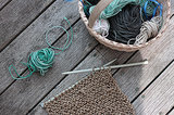 DIY: Potholders Knit from Ocean-Tossed Twine