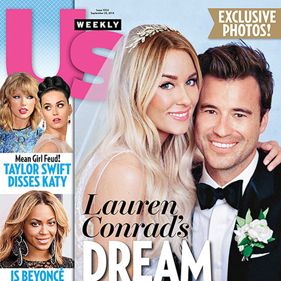 See Lauren Conrad and William Tell's First Wedding Picture!