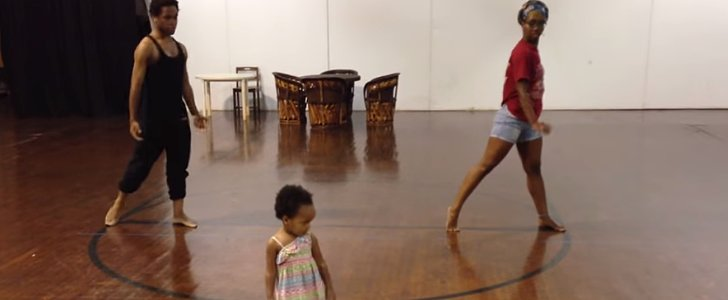 "You Must See This Toddler's Choreography to ""Chandelier"""