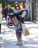 Sarah Jessica Parker's monogrammed cape