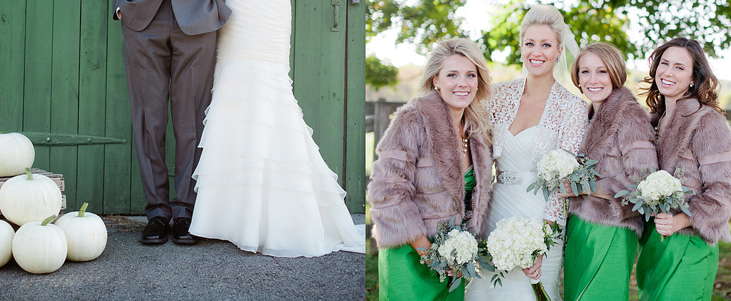 """Laura and Kingston's Quintessentially Rustic """"Lucky in Love"""" Wedding"""
