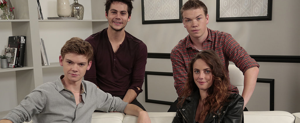 "The Maze Runner Cast: This Movie's Not About ""Pitting Young People Against Each Other"""