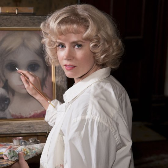 Tim Burton's Latest Trailer: Amy Adams Paints the Big Eyes, but Christoph Waltz Takes the Credit