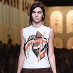 Kendall Jenner at Fashion Week Spring 2015