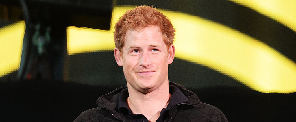 Watch Prince Harry Come to a Little Girl's Rescue