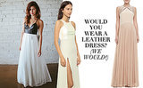 Trend Alert! Wedding Dresses With Leather (for the Edgy Bride)